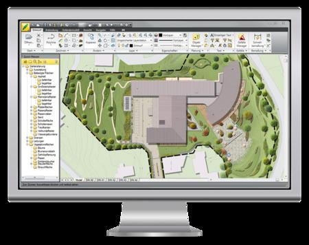 Cad f r gartenplanung cad f r den galabau und landschaftsarchitekten - Software gartenplanung ...