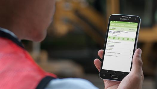 GaLaBau App zur Vernetzung von Baustelle und Büro