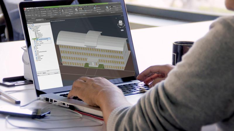 DATAflor BIM-Software: Import von BIM-Daten per IFC-Schnittstelle