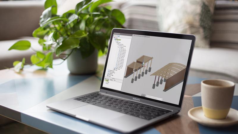 DATAflor BIM-Software: IFC-Daten von Außenbauteilen importieren